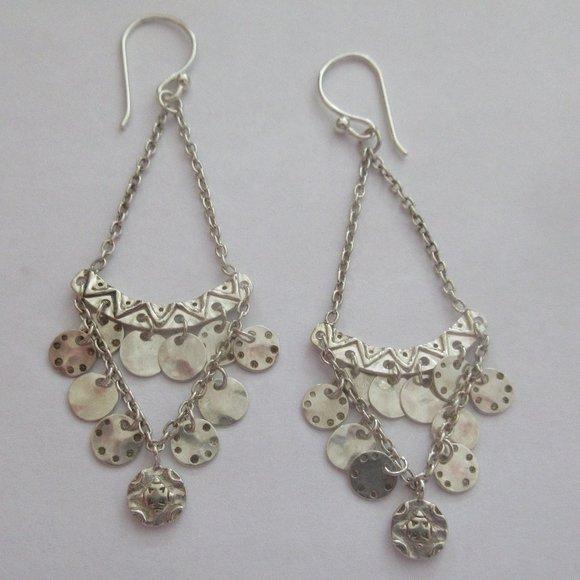 Silpada Confetti Chandelier 925 sterling Earrings